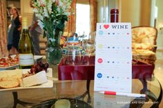 free printable wine-tasting cards - Celebrating Summer with a Wine Soirée