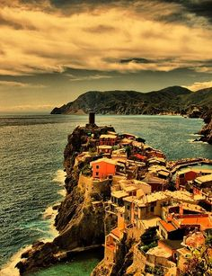 Cinque terre - my favorite place I visited when living in Italy