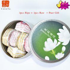High quality Mini Jasmine flaovr Puer Tea tuo cha China tea yunnan tuo cha tea 5g each piece pure tea