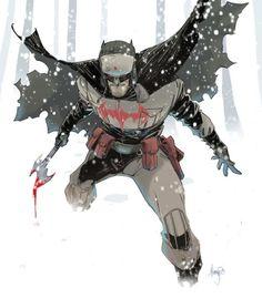 Batman Red Son by John Timms Dc Universe, Batman Universe, Superman Red Son, Im Batman, Batman Stuff, Batman Painting, Batman Artwork, Arte Nerd, Arte Dc Comics