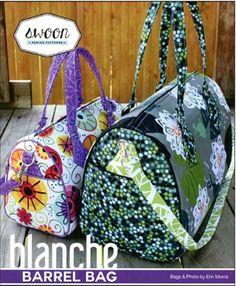 Bag Pattern - Swoon Blanche Barrel Bag