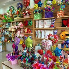 Party Supply Store, Party Stores, Party Shop, Gift Store, Toy Store, Wrapping Paper Station, Gift Shop Interiors, Flower Shop Decor, Candy Room
