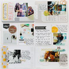 Finding Nana #scrapbook #projectlife