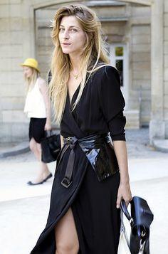 Ada Kokosar, (Google her for some serious fashion inspiration).