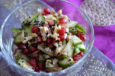 Middle Eastern Detox Salad using Middle East Feast Spice Blend Fun Food, Good Food, Yummy Food, Gluten Free Recipes For Dinner, Dinner Recipes, Nigella Seeds, Detox Salad, Healthy Options, Going Vegan