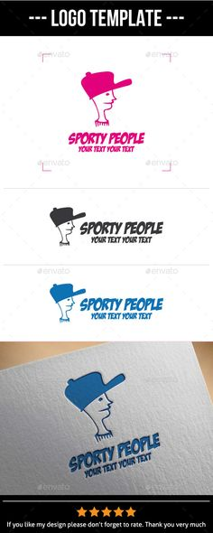 Sporty People -	 Logo Design Template Vector #logotype Download it here: http://graphicriver.net/item/sporty-people-logo-template/9940604?s_rank=1088?ref=nexion