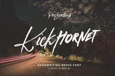 Kick Hornet - Font Duo + Extras by Dirtyline Studio on @creativemarket