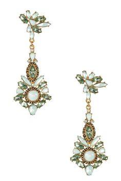 Relinda Stone Earrings by Olivia Welles on @HauteLook