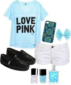 """Love Pink"" by lillyrenee on Polyvore"