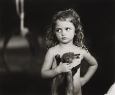 SALLY MANN :: Holding the Weasel, 1989