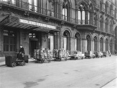 Electrical goods trolly, Midland Grand Hotel, St Pancras Station, 1920. © National Railway Museum / Science & Society Picture Library -- All rights reserved