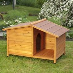 Wooden-Dog-Kennel-Winter-Warm-House-Weather-Proof-Shelter-Outdoor-Patio-Small-UK