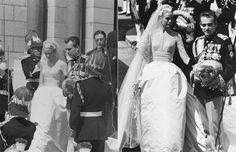 Monaco royal weddings: Grace Kelly and Prince Rainier III - hellomagazine.com