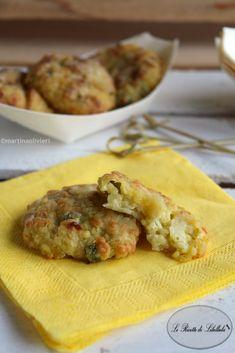 #Crocchette di #miglio e #piselli #ricetta #foodporn #gialloblogs #fingerfood
