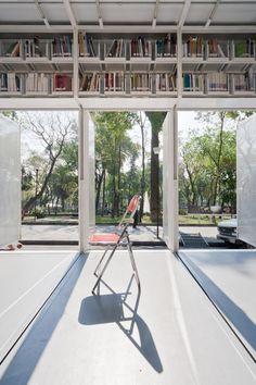 Productora /// Mobile Art Library @ Mexico City, Mexique