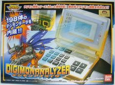 NEW! Digimon Adventure Digimon Analyzer BANDAI Import Japan 1053 #BANDAI