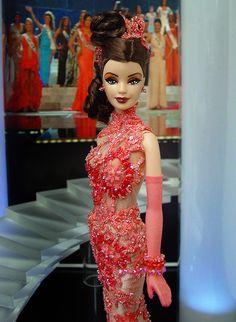๑Miss Boston 2013' Barbie Miss, Miss Usa, Barbie Collector, Barbie Friends, Barbie World, Beauty Pageant, Beautiful Dolls, Fashion Dolls, Supermodels