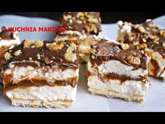 Maxi King, Polish Desserts, Easy Thanksgiving Recipes, Sweets Cake, No Bake Cake, Food Porn, Good Food, Dessert Recipes, Food And Drink