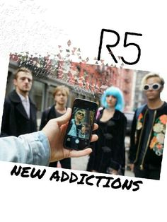 R5family, enjoy the new album of our favorite guys!!!! The most awesome songs!!! #newaddictions #R5family #R5 #freakingwonderful