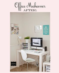 An Office makeover | The Savvy Photographer Blog