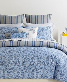 Tommy Hilfiger Bedding, Tucker Island Comforter and Duvet Cover Sets - Tommy Hilfiger - Bed & Bath - Macy's