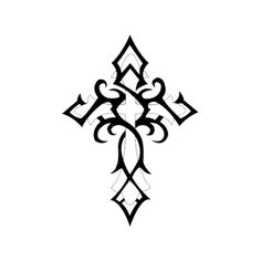 Cross Gothic Tattoo