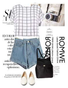 """""""romwe contest"""" by tiko-riko ❤ liked on Polyvore featuring Arco, Myne, Charlotte Olympia and Dolce&Gabbana"""