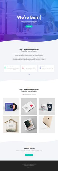 Bern is Premium full Responsive HTML5 template. Retina Ready. One Page. Bootstrap 4 Framework. #MinimalDesign. If you like this #HTML5PortfolioTemplate visit our handpicked list of best #Portfolio Templates at: http://www.responsivemiracle.com/best-responsive-html5-portfolio-template-2018/