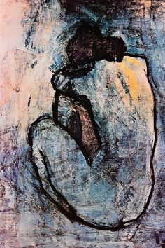 """""""Blue Nude"""" - canvas print by Pablo Picasso"""