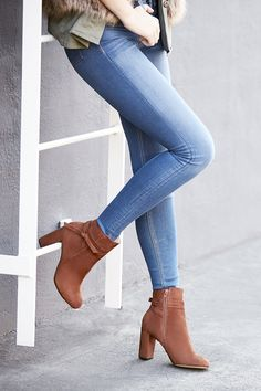 Side tie ankle booties | Sole Society Flynn