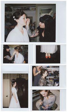 Instax Mini wedding images