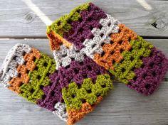 Fiber Flux...Adventures in Stitching: Free Crochet Pattern...Scrap Love Scarf
