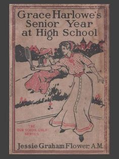 There are 4 series of books starring Grace and her friends. they transcend through high school, college, WW1 and traveling outwest. I am so fortunate to own the first two sets which were handed down from my great grandma and her sisters. They are a really neat example of young ladies of the Edwardian period.