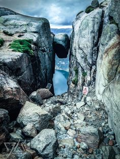 the one and only kjerag bolt -   norway