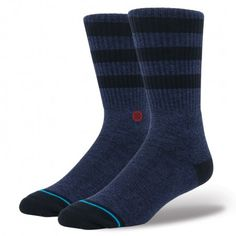 Don't just spend a night at the Roxbury—live your days in it. Beneath its subtle style, Stance's Roxbury offers unrivaled performance. Premium combed cotton and a reinforced heel and toe ensure this athletic sock provides the perfect blend of comfort and durability. An elastic arch and deep heel pocket hug the contours of your feet while mesh vents help them breathe. Whether you're stepping out or staying in, the Roxbury knows how to have a good time $12