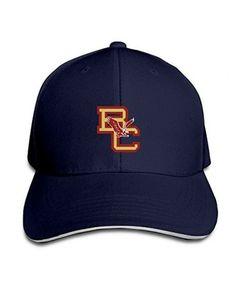 f1889e6b0ac70 Boston College Eagles Unisex Adjustable Sandwich Hunting Peak Hat Cap Black  Fashion Comic Theme Logo Cap at