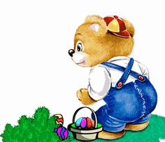 Free Easter MySpace Animations Codes Page MySpace Easter Animated Gifs. Christian Easter Animations for MySpace. Bear Cartoon Images, Teddy Bear Cartoon, Teddy Bears, Easter Hunt, Easter 2014, Easter Eggs, Gifs, Cute Easter Pictures, Happy Easter Gif
