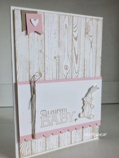 stampin with beemybear: Babykarte