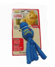 KONG CAT WUBBA - BLUE. Available from www.nuzzle.co.za