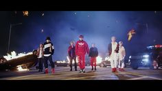 So I love the feel of this.  Not sure I love the new english lyrics, though.  BTS (방탄소년단) 'MIC Drop (Steve Aoki Remix)' Official MV