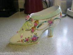 Beautiful Vintage Porcelain Shoe