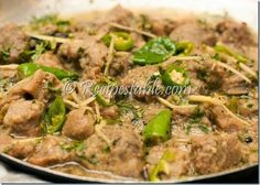 When guest arrive unexpectedly and you just want to make a quick dish. Then this White Mutton Karahi recipe here will help you out. I added a new taste to the traditional mutton karahi with unique style. Check it out the white mutton karahi recipe here!!