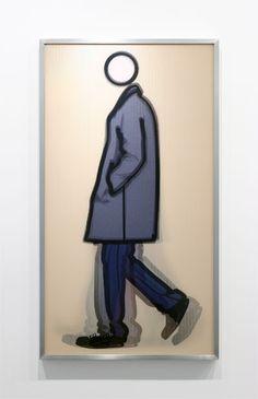 ArtHouse: Julian Opie Art Postal, Collage, Video Wall, True Art, Cool Artwork, Painting & Drawing, Illustrators, Michael Craig, Pop Art