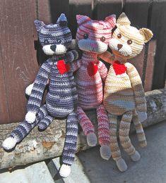 Bild: Virkade katter - Sysidan