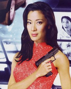 Wai Lin - Tomorrow Never Dies. The only Bond woman to hold her own up against Bond. She also did all of her own stunts!!