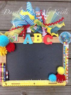 Dr Seuss Teacher Door Hanger Teacher Wall by DazzlinDoorzbyKristi, $38.00