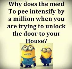 Or trying to get to the bathroom in the mornings!!LOL!!