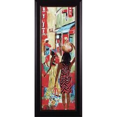 Art Effects Market Day IV by Maria Donovan Framed Painting Print