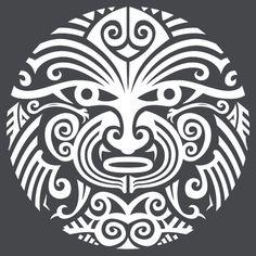 Maori tattoo face