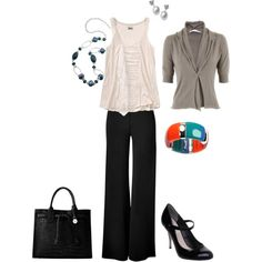 going to work, created by lauradi1